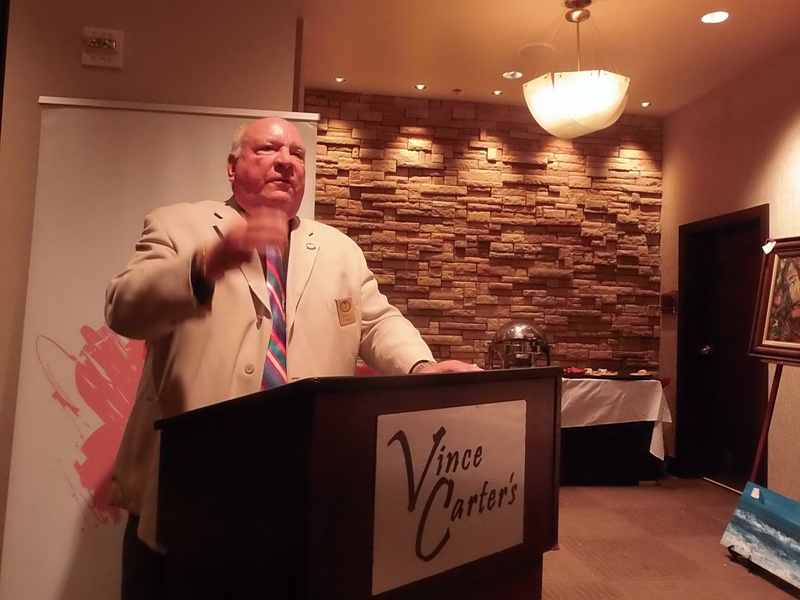 PHF Board of Directors Member, Mayor Jon Netts delivering an awesome speech about domestic violence and bullying and our work in Precious Hearts Foundation